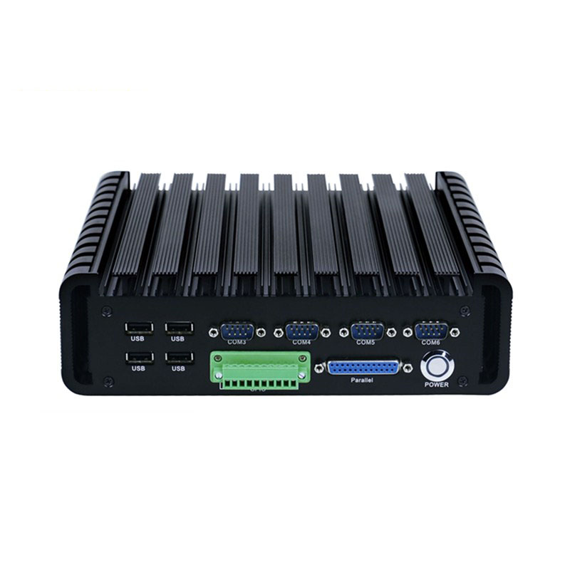 Q602 Mini ITX Fanless Industrial Computer