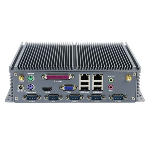 embedded pc Intel J1900 mini linux pc with parallel port without noise